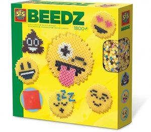 a photo of the product: SES Creative strijkkralenset Beedz Emoticons junior 1800 stuks
