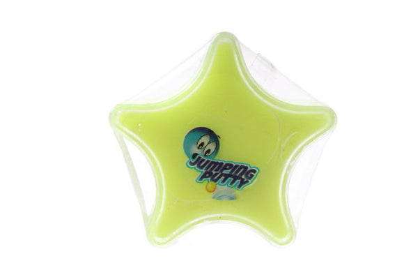 a photo of the product: TOM Jumping putty junior 5 cm siliconen geel