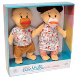 a fourth photo of the product: Manhattan Toy babypoppen Stella Twins junior 30 cm textiel 2-delig