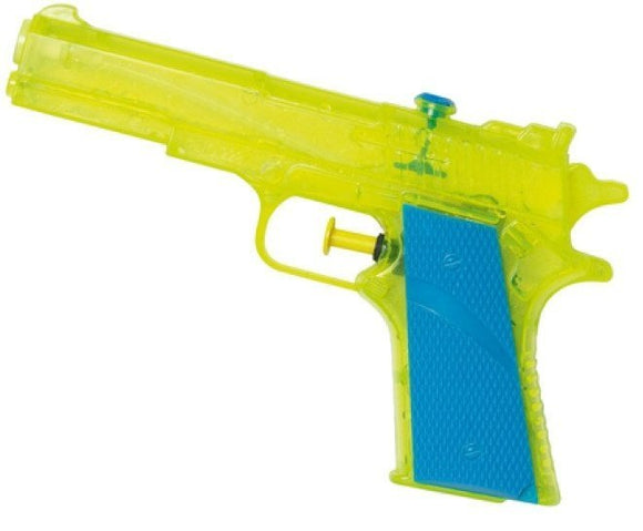 a photo of the product: Waterzone waterpistool geel 18 cm