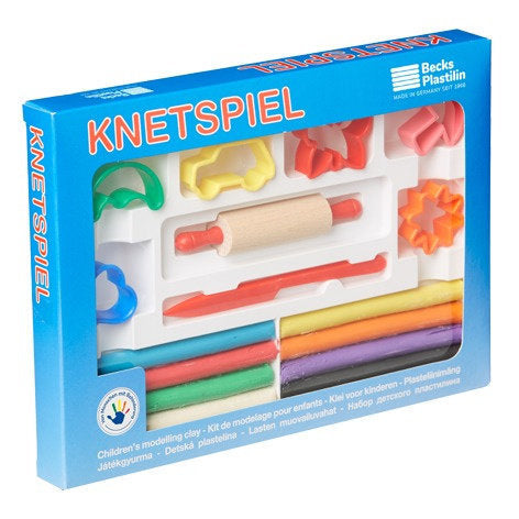a photo of the product: Becks kleiset Knetspiel junior 17-delig
