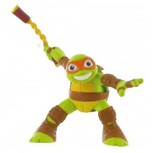 a photo of the product: Comansi speelfiguur Ninja Turtles Michelangelo 9 cm groen