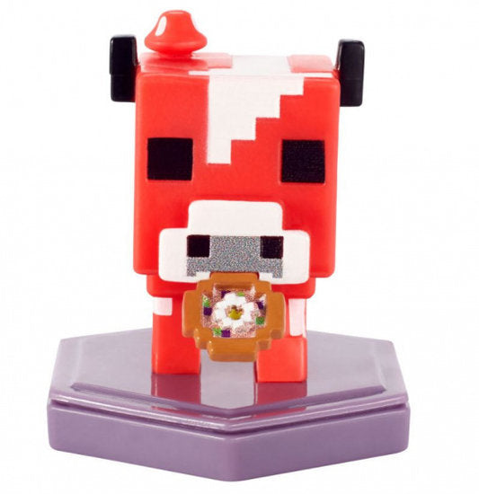 a photo of the product: Mattel speelfiguur Minecraft Earth Boost junior 5 cm rood/wit
