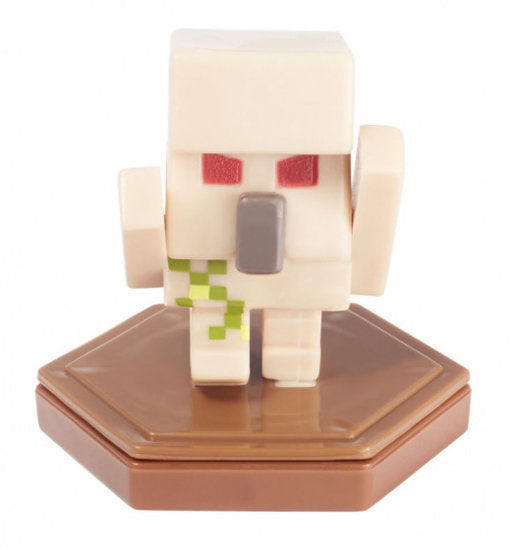 a photo of the product: Mattel speelfiguur Minecraft Earth Boost junior 5 cm beige/bruin