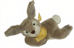 a photo of the product: Clemens knuffel Klein Konijntje junior 25 cm pluche matbruin