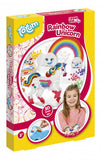a photo of the product: Totum strijkkralen set unicorn 3D multicolor 3-delig