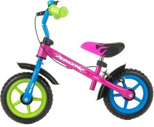 a photo of the product: Milly Mally loopfiets Dragon 10 Inch Junior Knijprem Multicolor