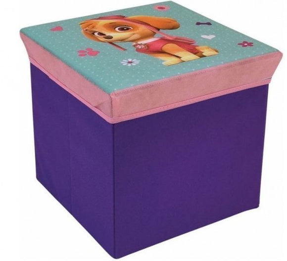 a photo of the product: Jemini opbergbox Paw Patrol paars 30 x 30 x 30 cm 27 liter