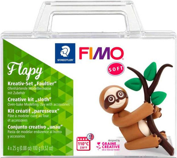 a photo of the product: fimo kleiset luiaard Flapy junior 9-delig