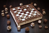 a third photo of the product: Eco-Wood-Art Gameset Houten Modelbouw
