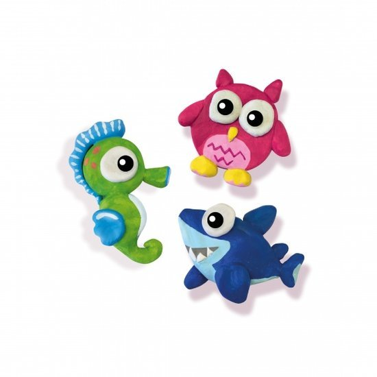 a photo of the product: SES Creative zoutdeeg figuren maken en schilderen