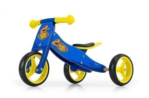 a photo of the product: Milly Mally 2-in-1 loopfiets Jake cowboy Jongens Blauw