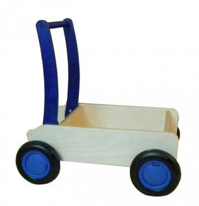a photo of the product: Van Dijk Toys blokkenwagen 55 cm blauw