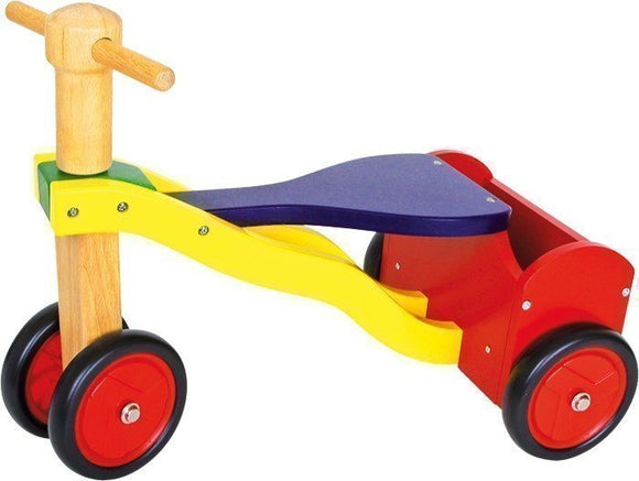a photo of the product: Small Foot Loopfiets Niels Junior Multicolor