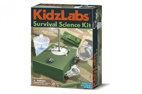 a photo of the product: 4M KidzLabs: survivalkit