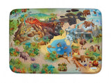 a photo of the product: ACHOKA Speelkleed Dino us Connect 100 x 150 cm