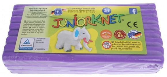 a photo of the product: Feuchtmann Juniorknet Klei Jumbo Pack 500 gram Paars