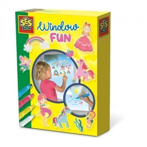a photo of the product: SES Creative Window fun Prinses 20 x 15 cm