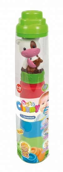 a photo of the product: Clementoni dierenkoker Clemmy blokken groen