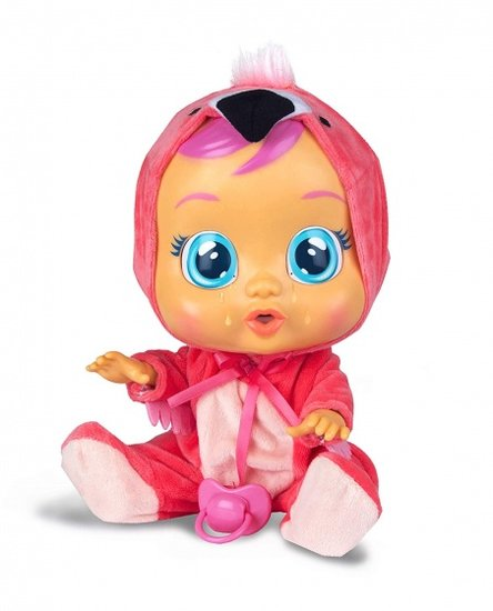 a photo of the product: IMC huilende babypop Cry Babies Fancy 30,5 cm roze