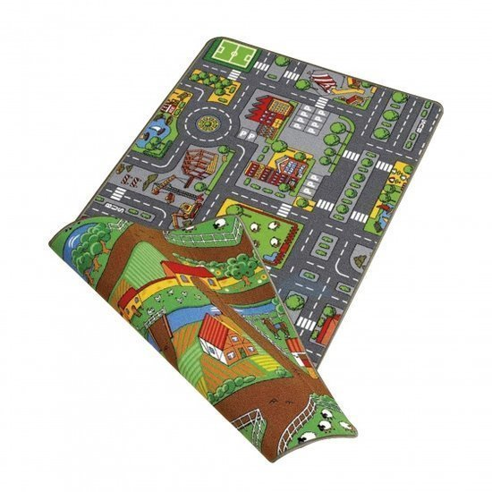 a photo of the product: Paradiso Toys speelkleed Duoplay 2-in-1 80 x 120 cm