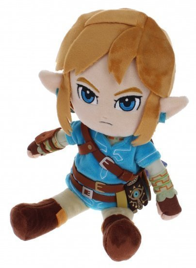 a photo of the product: Little Buddy knuffel Zelda: Breath of the Wild: Link 30 cm blauw