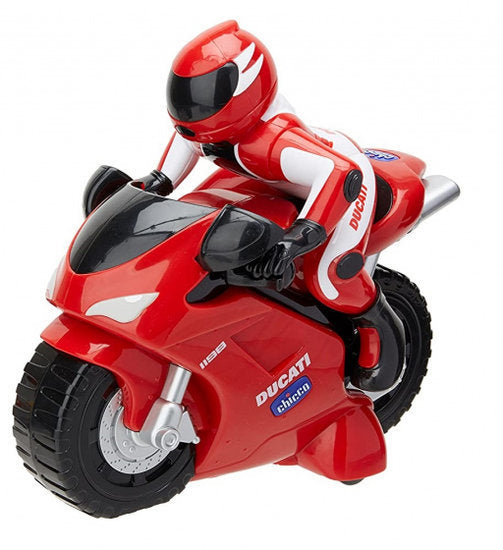 a photo of the product: Chicco motor RC Ducati 1198 junior 14 cm rood 2-delig
