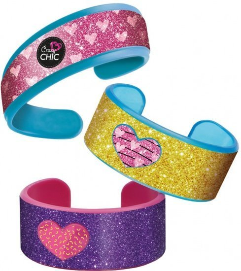 a photo of the product: Clementoni armbanden maken Crazy Chic 4 stuks