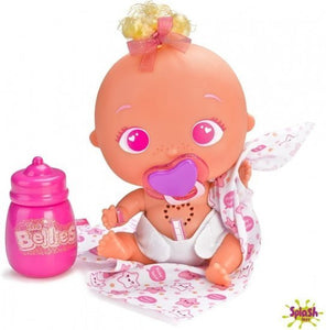 a photo of the product: Splash Toys Bellies babypop Bobby-Boo 17 cm roze