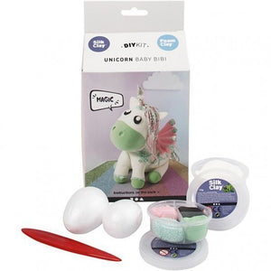 a photo of the product: Silk Clay knutselset Funny Friends Baby Bibi 8-delig