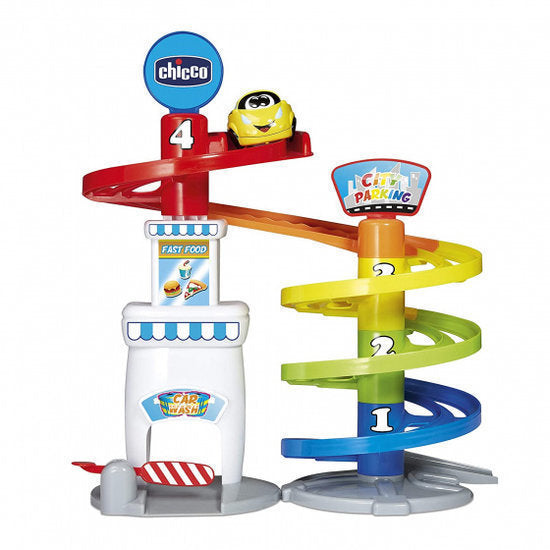 a photo of the product: Chicco parkeergarage Turbo Bal 37 cm junior 3-delig
