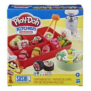 a photo of the product: Play-Doh kleiset Sushi junior 18-delig