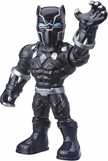 a photo of the product: Marvel Black Panther junior 25 cm zwart