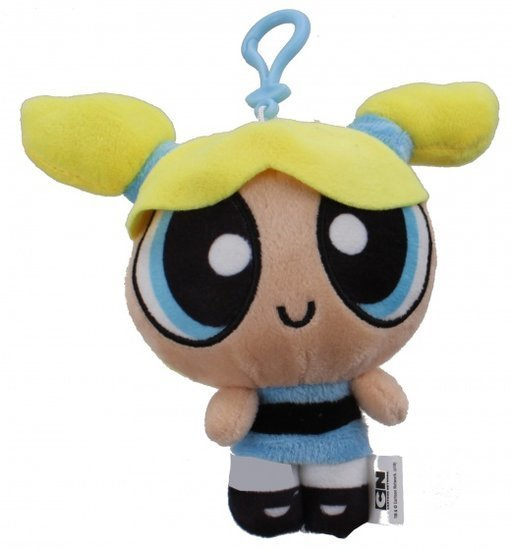 a photo of the product: Cartoon Network Powerpuff Girls knuffel 15 cm meisjes geel