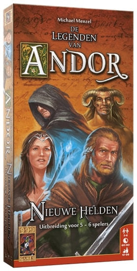 a photo of the product: 999 Games bordspel De Legenden van Andor: Nieuwe Helden 5/6