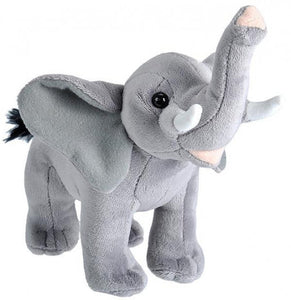 a photo of the product: Wild Republic knuffel olifant 20 cm pluche grijs