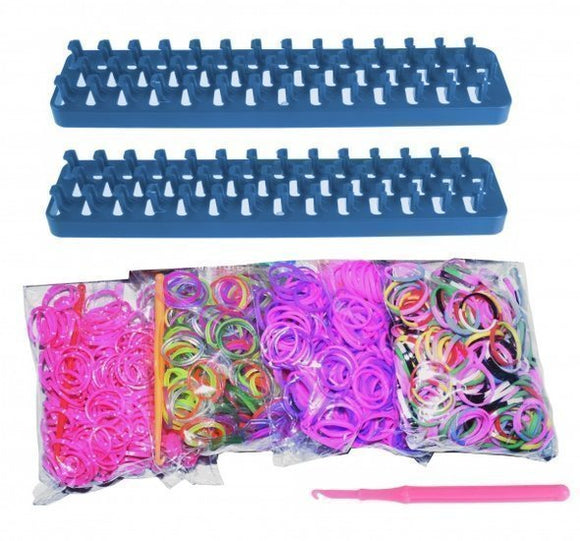 a photo of the product: Loom Twister loombands Fun Loom 2000-delig blauw