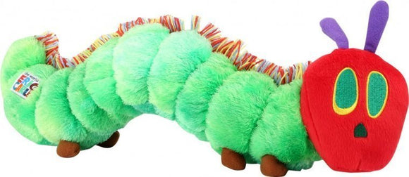 a photo of the product: Small Foot Rupsje Nooitgenoeg pluche knuffel 42 cm