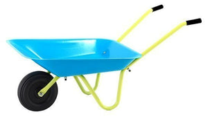 a photo of the product: Hörby Bruk Kruiwagen Kind Blauw