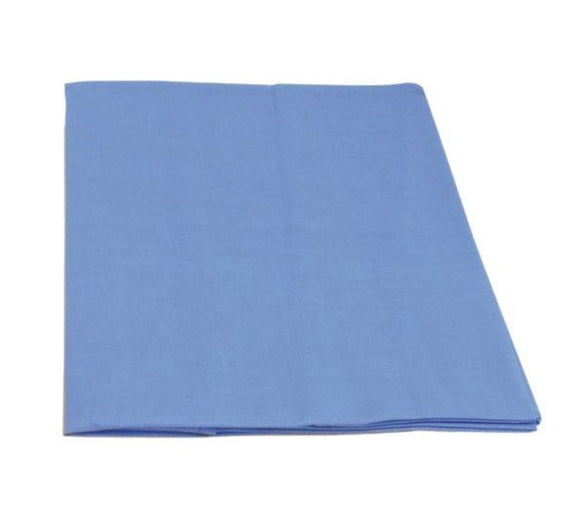 a photo of the product: Glückskäfer speelkleed 1,5 x 1 m blauw katoen