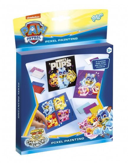 a photo of the product: Totum mozaïek-kunst Paw Patrol junior 4-delig