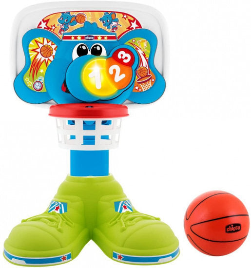a photo of the product: Chicco basketbalspel Basket League junior 58 cm 2-delig