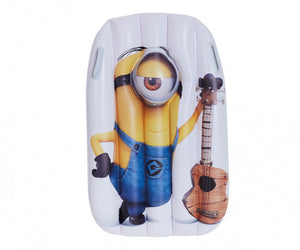 a photo of the product: Happy People luchtbed Minions 95 x 81 cm geel