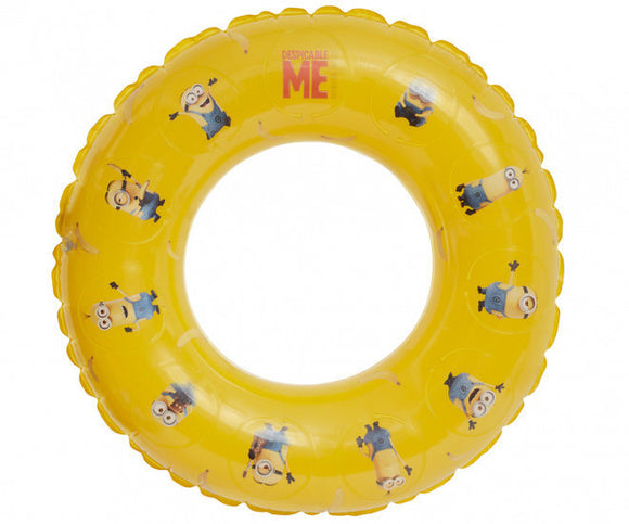 a photo of the product: Happy People zwemband Minions 100 cm geel