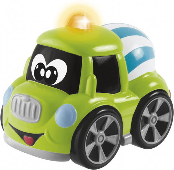 a photo of the product: Chicco bouwvoertuig betonwagen junior 12 cm groen