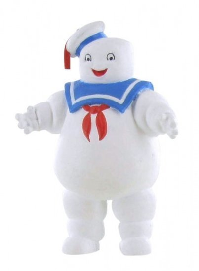 a photo of the product: Comansi speelfiguur Ghostbusters: Stay Puft 8,5 cm wit