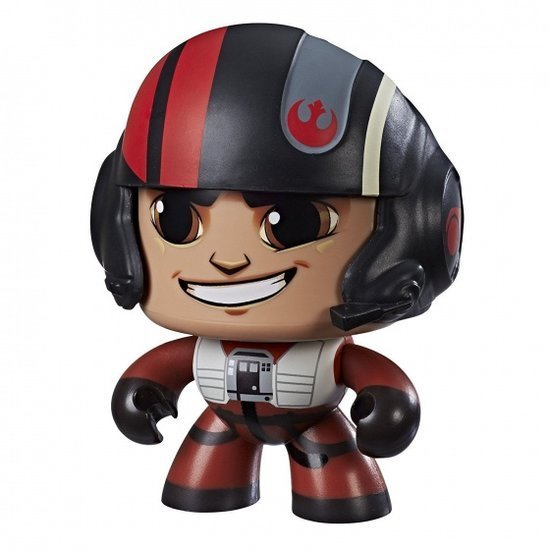 a photo of the product: Hasbro Star Wars Mighty Muggs Poe Dameron 9,5 cm rood