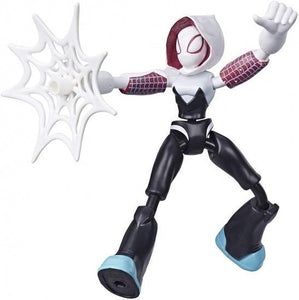 a photo of the product: Marvel Spider-Man Bend And Flex Ghost Spider 15 cm actiefiguur