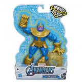 a second photo of the product: Marvel actiefiguur Avengers Thanos 15 cm goud/blauw 2-delig