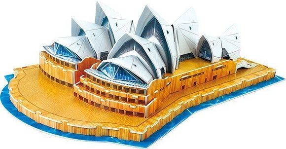 a photo of the product: Small Foot 3D Puzzel Sydney Opera House 58-Delig